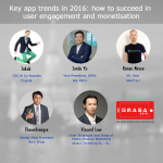 Key app trends in 2016: how to succeed in user engagement and monetisation